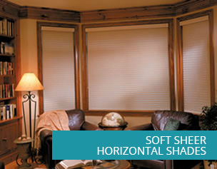 Soft Sheer Horizontal Shades